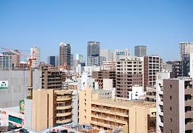 大阪のデザイナーズオフィス、オフィスポート大阪・西本町のある西本町周辺の写真その1